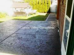 Professional Concrete Finishing Work