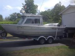 1991 Eagle Craft 20.5 ft. Al. Fishing Boat (Qualicum Beach) $54,800.00. Excellent condition